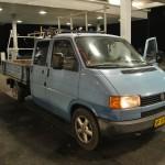 Vores gode gamle lille VW. Slider og slæber også når vi selv henter profiler.